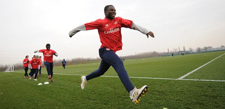 Frimpong.. handed a start in Austria